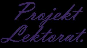 Projekt Lektorat Logo