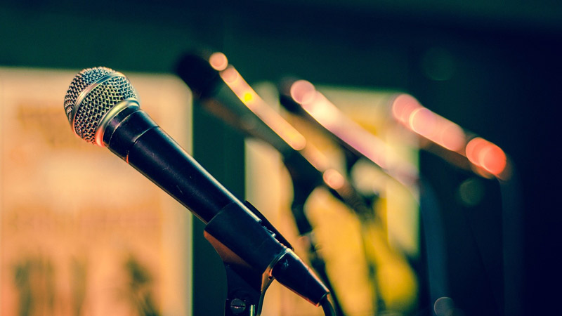 Set von Mikrofonen